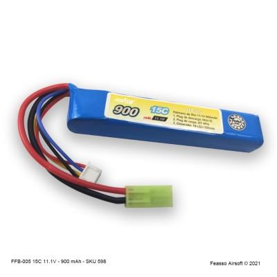 FFB-005 Bateria LiPO 15C - 1.1V - 900mAh
