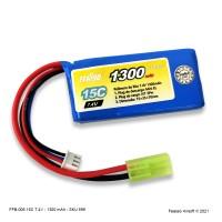 FFB-006 Bateria LiPO 15C - 7.4V- 1300mAh*