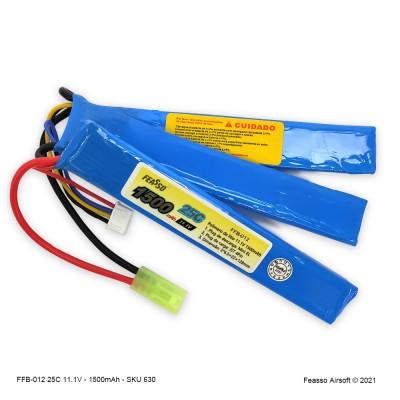 FFB-012 Bateria LiPO 25C - 11.1V - 1500mAh
