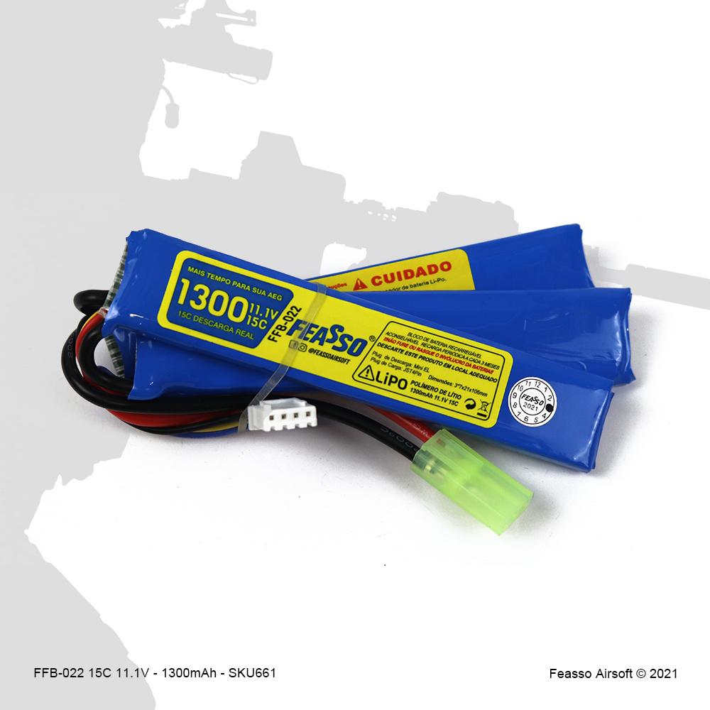 FFB-022 Bateria LiPO 15C - 11.1V - 1300mAh*