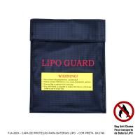 FJA-300X - Capa Protetora Antichamas  P/ Baterias LiPO* cor Preta