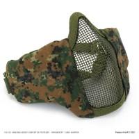 FJA-123 MARPAT - Máscara JERSEY COMFORT de Proteção - P/ AIRSOFT - CAMO  MARPAT*