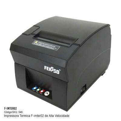 F-imter02 - Impressora Térmica de Recibos, Tickets E Cupons