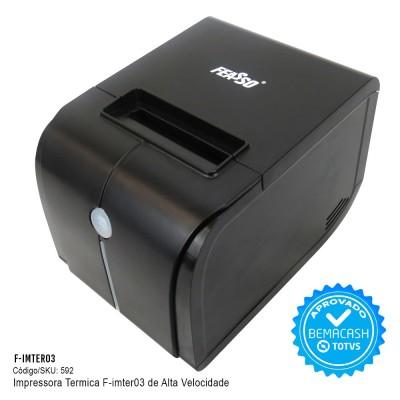 F-IMTER 03 -  Impressora Térmica de Recibos, Tickets e Cupons