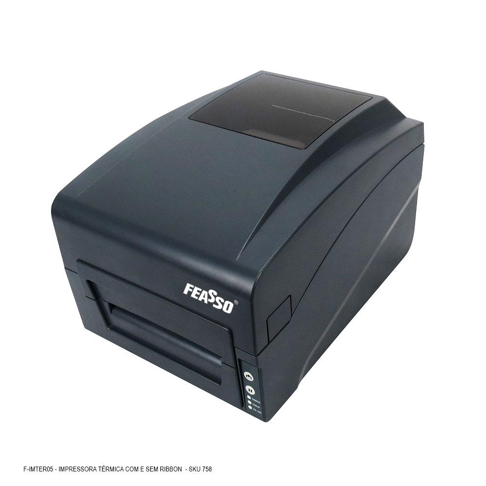 F-IMTER05 Impressora Térmica com e sem Ribbon, para Etiquetas