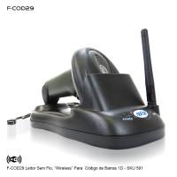 F-COD29 - Leitor de código de barras sem fio profissional