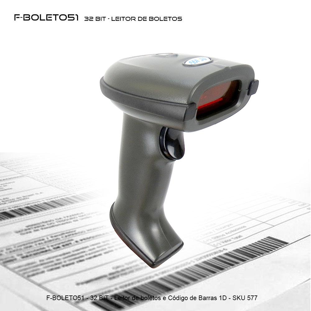 F-Boleto51 - Leitor de boletos e códigos de barra 1D