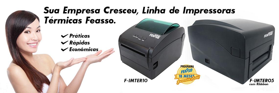 Impressora Térmica de Etiquetas F-imter10