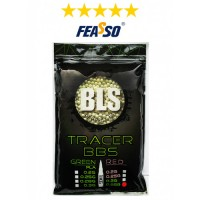 646 - BLS BBS AIRSOFT F-BBS25T C/4000 TRACER (1Kg)*