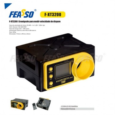 Cronógrafo F-xt3200 Para Medir Velocidade