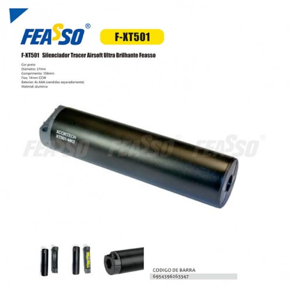 649 - TRACER AIRSOFT F-XT501 ULTRA BRILHANTE*