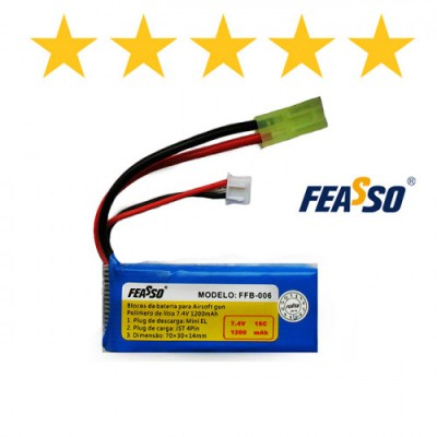 Bateria Ffb-006 (15c) 7.4v 1200mah