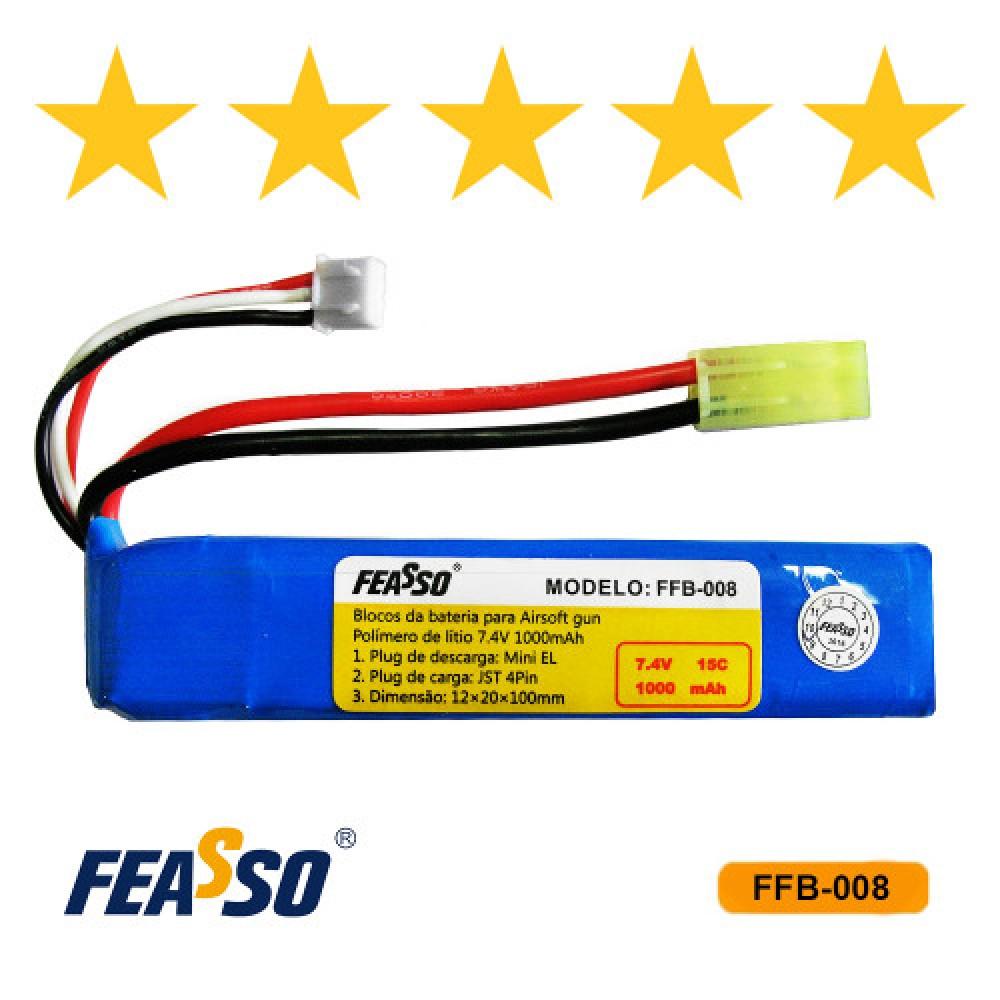 615 - BATERIA FFB-008 (15C) 7.4V 900mAh*