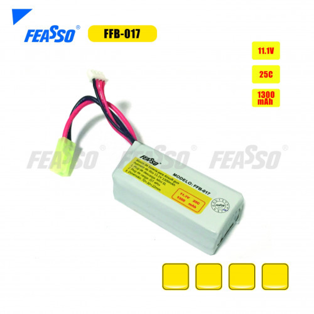 Bateria ffb-017 (25c) 11.1v 1300mah*