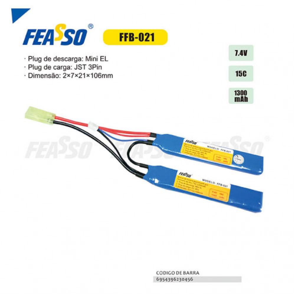 Bateria ffb-021 (15c) 7.4v 1300mah*