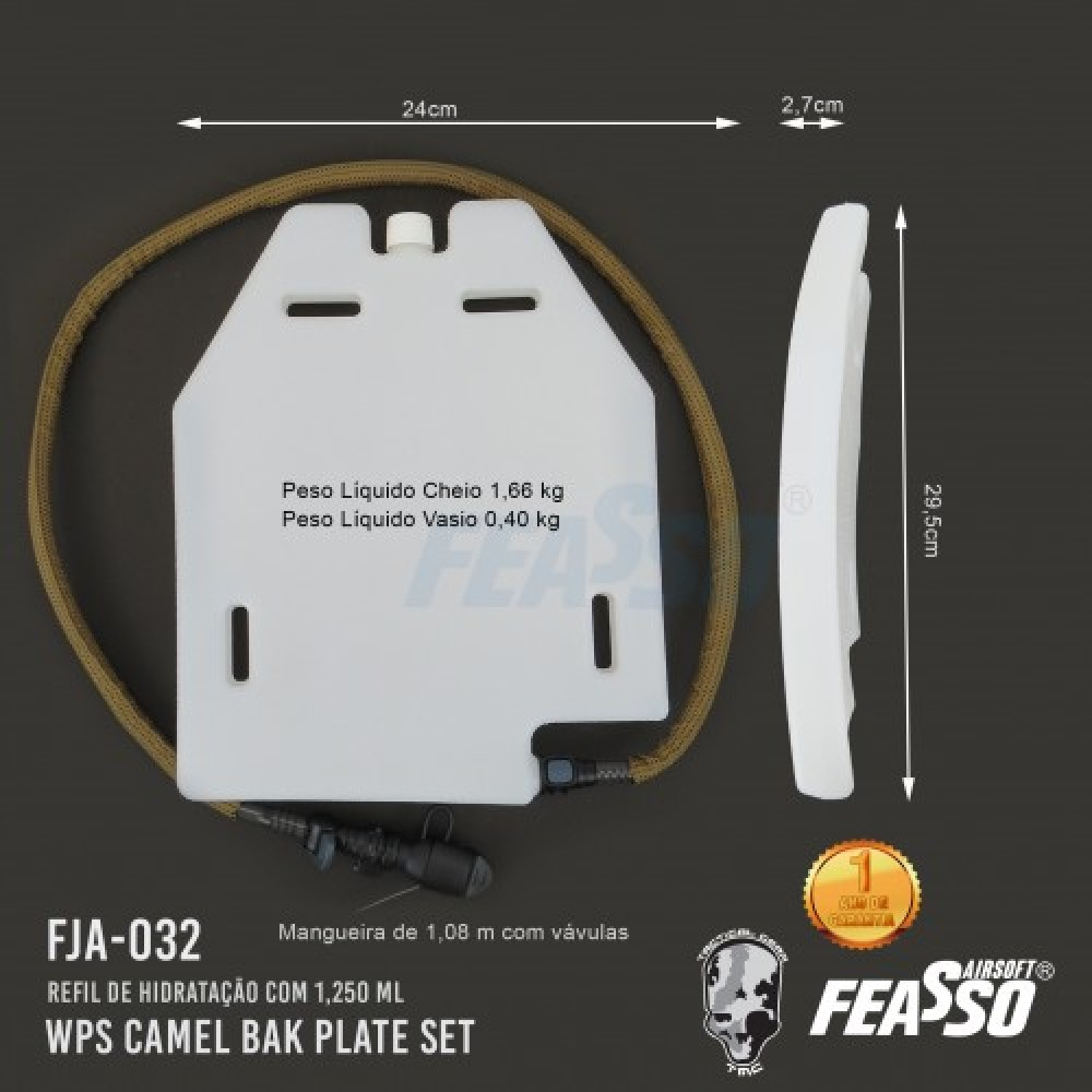 693 - WPS - TMC - CAMELBAK PLATE SET FJA-032*