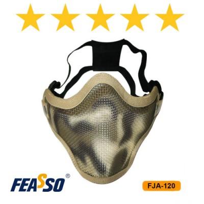 FJA-120 Mascara Telada Meia Face–Areia