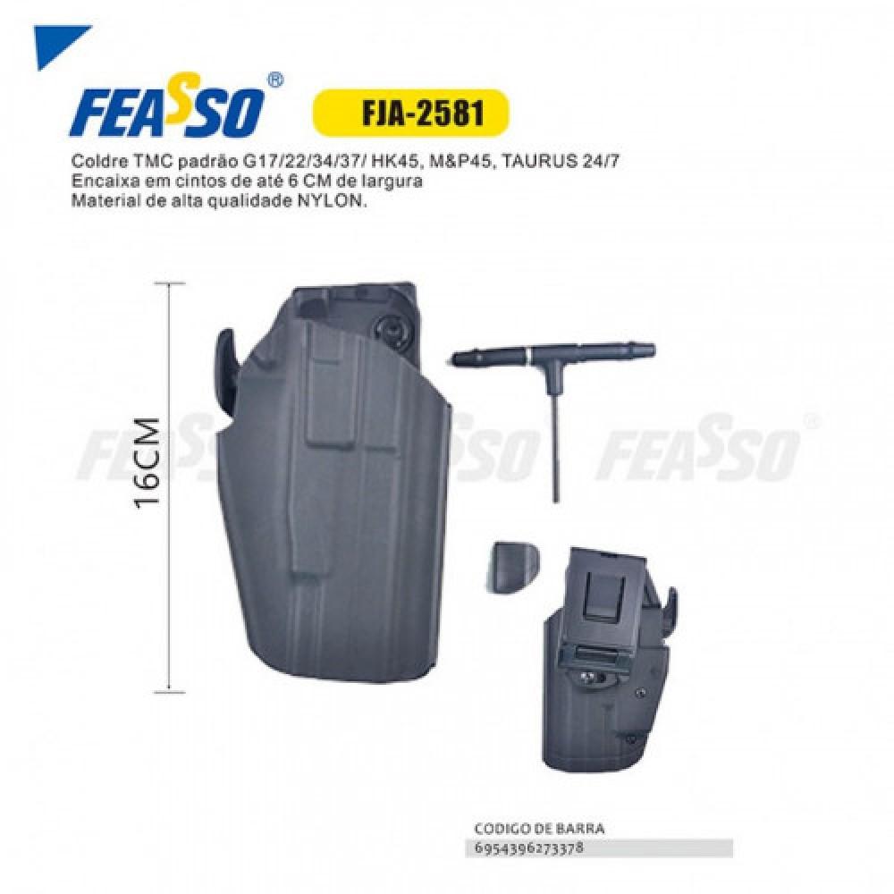 Coldre universal 16cm fja-2581 - preto*