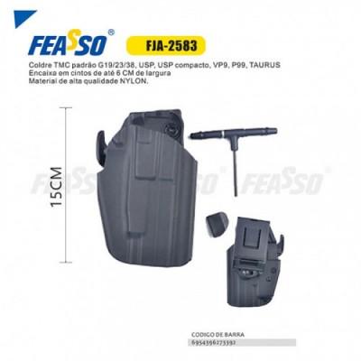 Coldre Universal 15cm Fja-2583 - Preto