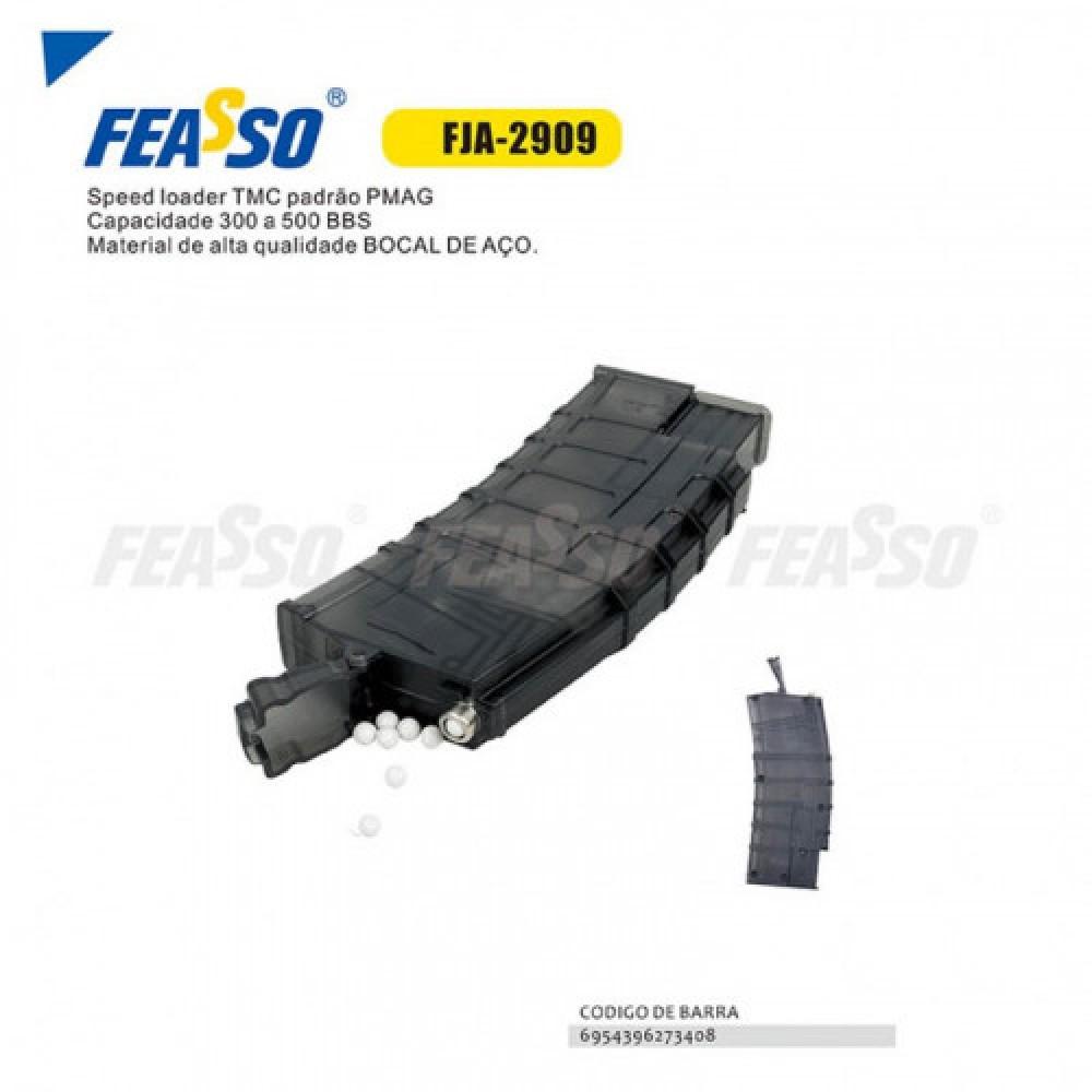 Speed loader fja-2909 bocal de aço*