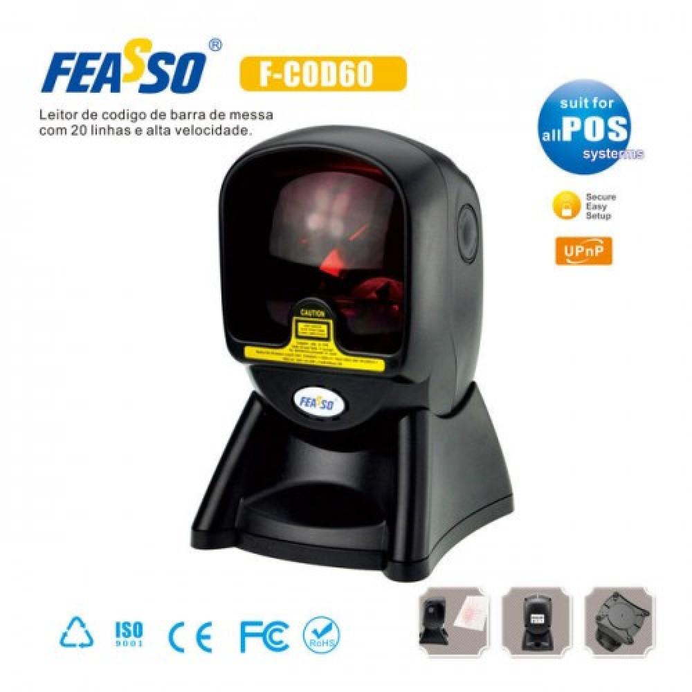 486 - LEITOR DE CODIGO DE BARRAS F-COD60 20 LINHAS (MESA)