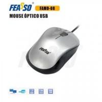 Mouse Famo-08 usb prata