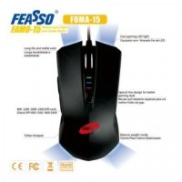 FAMO-15 USB P/ Games 2400DPI Mouse - Preto