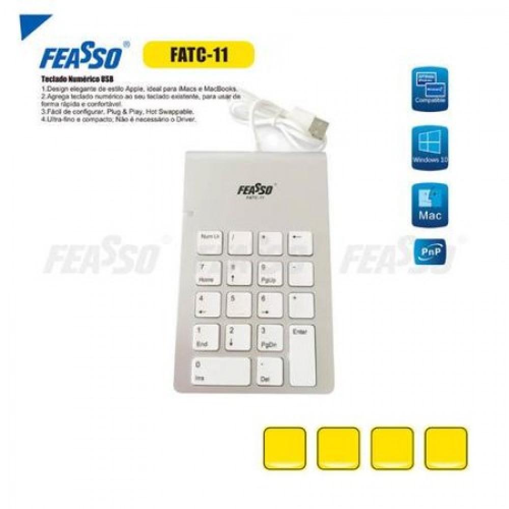 Teclado numérico fatc-11 usb***