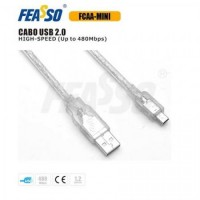 Cabo usb fcaa-mini usb 2.0 am/mini - 1,2m