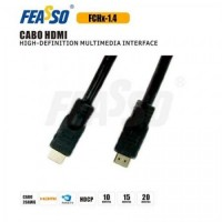 Cabo hdmi fch10-1.4 10m ( 3d full hd 4k )