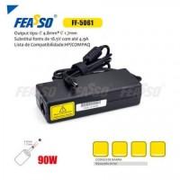 FF-5061 Fonte P/ Notebook 90W 18.5V - 4.9A Plug4,8x1,7