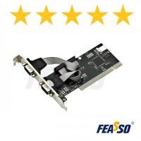 FPSS-01 Placa PCI P/Impr. 2 Port. Serial RS-232 DB-9
