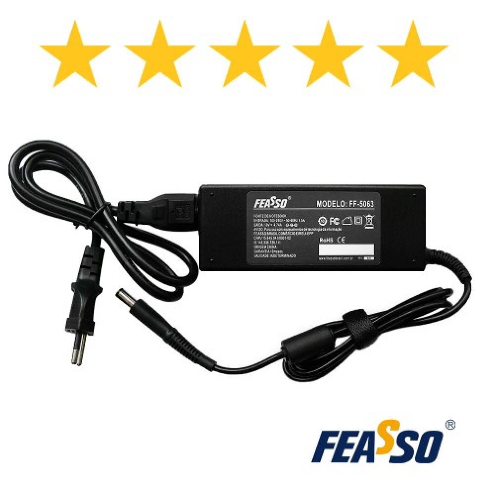 573 - FONTE FF-5063 P/ NOTEBOOK 90W 19V 4.74A PLUG7,4X5,0