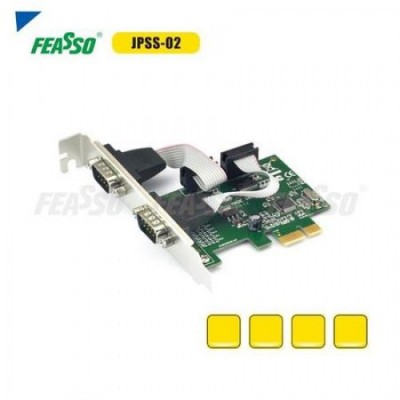 Placa pci-e jpss-02 c/2 serial e perfil baixo