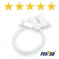 Adap. fi-1201 conversor iphone-4 p/ iphone-5***
