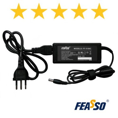 Fonte Ff-5189c P/ Notebook 75w 19v 3.95a Plug5,5x2,5