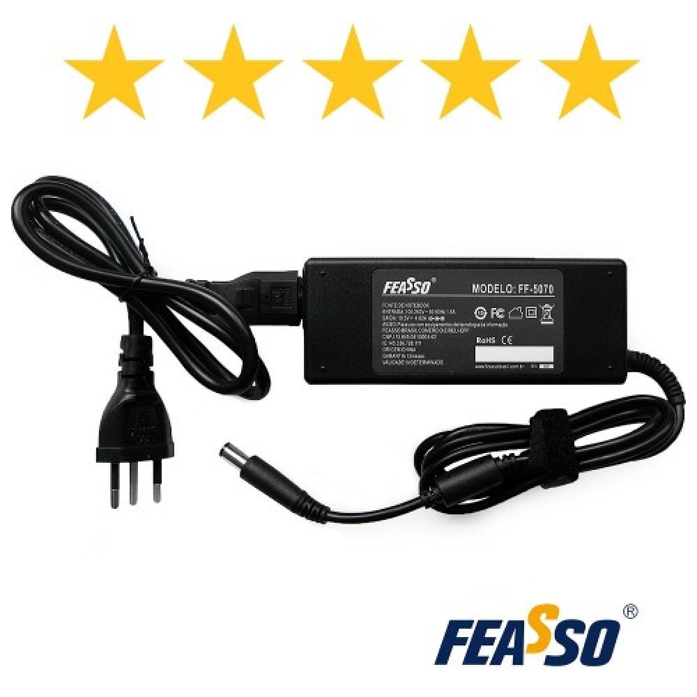 572 - FONTE FF-5070 P/ NOTEBOOK 90W 19.5V 4.62A PLUG7,4X5,0