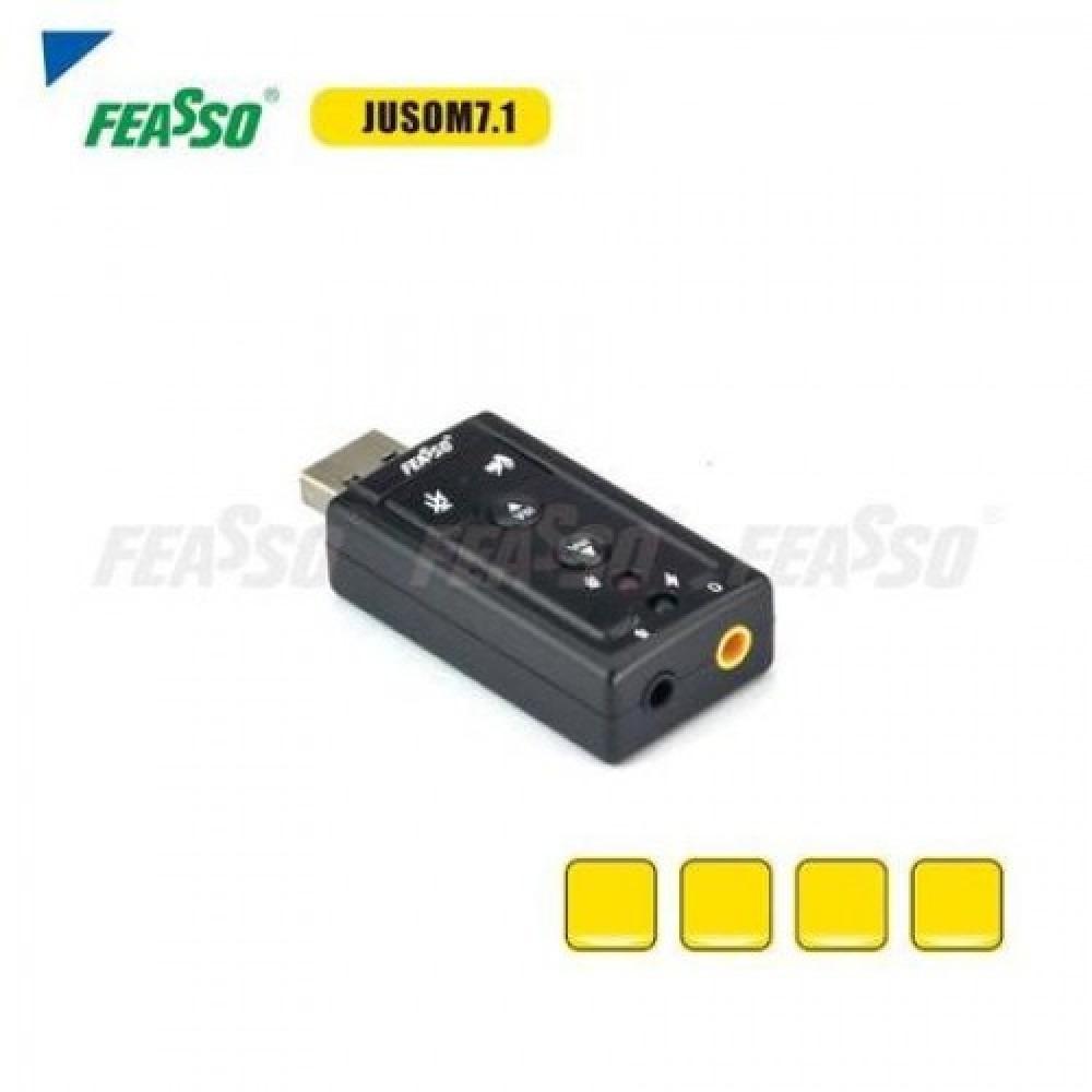 508 - ADAP. USB JUSOM 7.1 P/ PLACA DE SOM