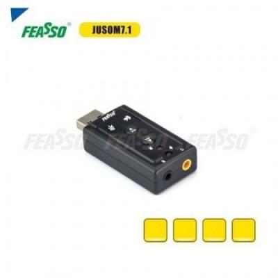 JUSOM 7.1 Adap. USB P/ Placa De Som