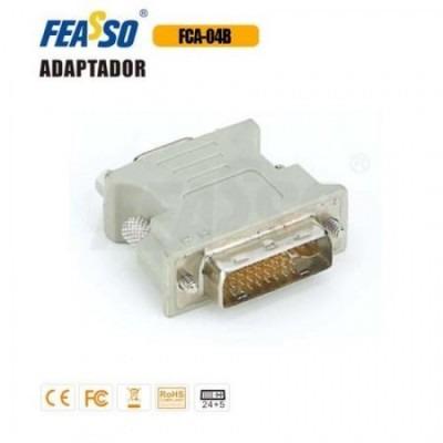Adap. Fca-04b Dvi-m X Vga-f (dvi-i 24+5 Analógico E Digital)