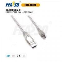 Cabo usb fcaa-micro usb 2.0 am/micro - 1,2m