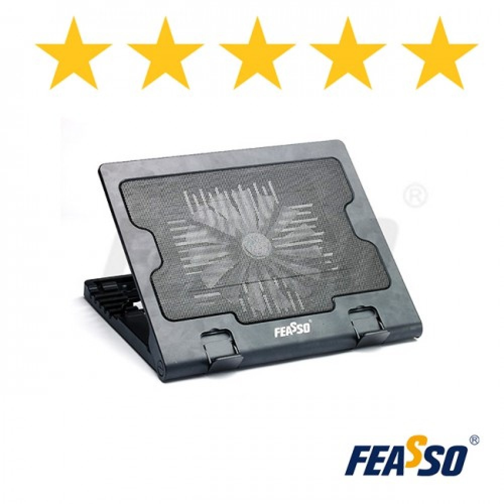 348 - BASE NOTEBOOK FN-720 COM COOLER CENTRAL E 5 POSICOES