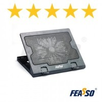 Base notebook fn-720 com cooler central e 5 posições