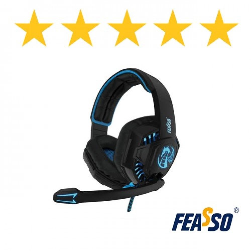Fone de ouvido fone-706 gamer com led