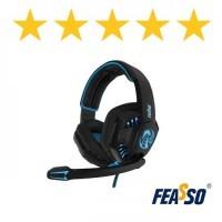 597 - FONE DE OUVIDO FONE-706 GAMER COM LED