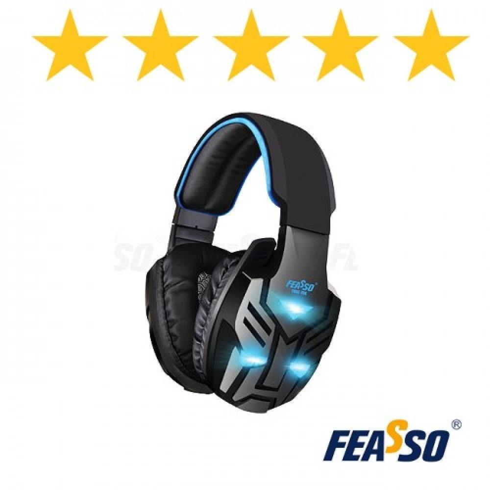 Fone de ouvido fone-708 gamer com vibração