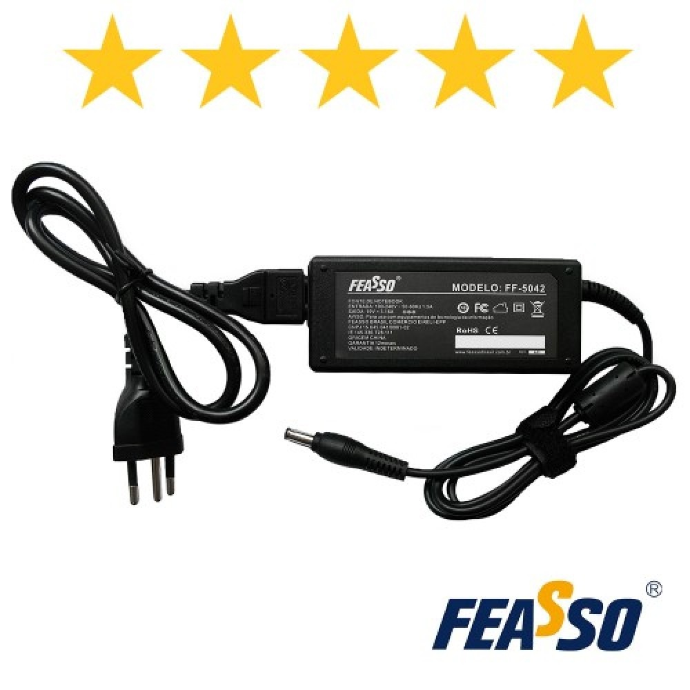 562 - FONTE FF-5042 P/ NOTEBOOK 60W 19V 3.16A PLUG5,5X3,0