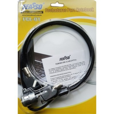Trava p/ note fcl-01 com chave – 1,5mt