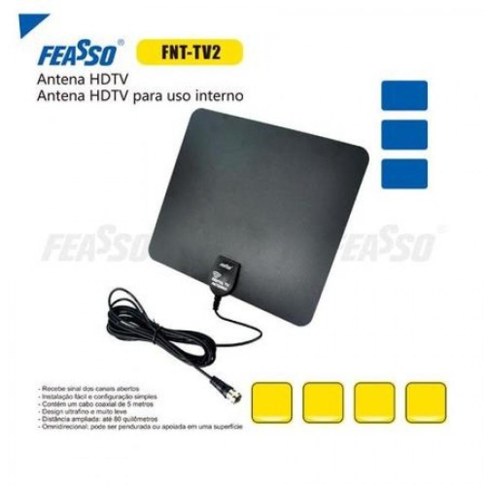 Antena fnt-tv2 p/ conversor de tv digital*****