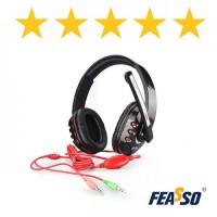 Fone de ouvido fone-160 gamer para pc